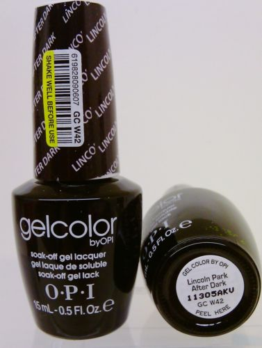 OPI Gel Color GC W42 Lincoln Park