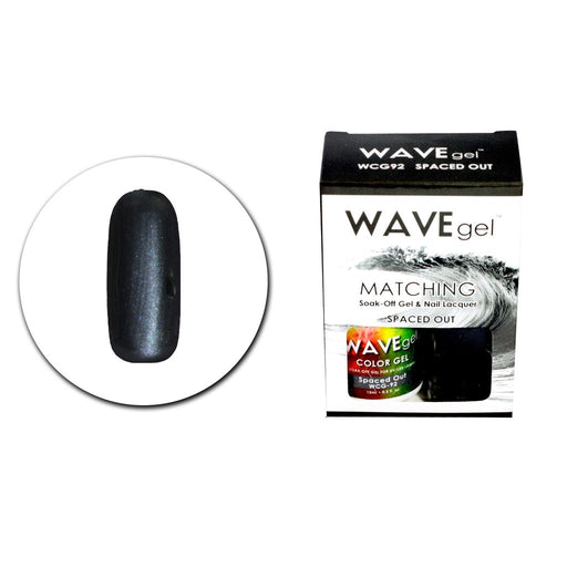 Wave Gel Matching Soak Off Gel Polish SPACED OUT WCG92 (W92)