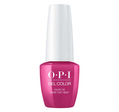 Opi gelcolor soak off gel polish You're the Shade That I Want G50 0.5 oz 15 ml np5