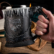 Winter is Coming 3D Coffee Mug
