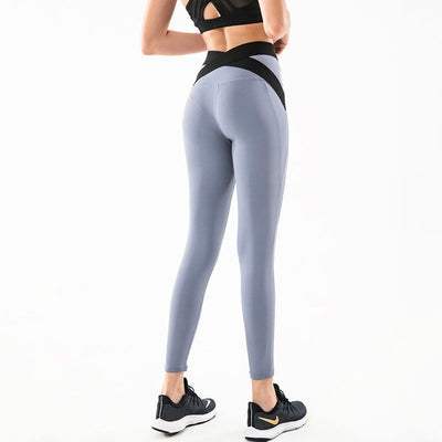 Breathable Back Cross Workout Sport Leggings