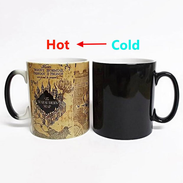 Solemnly swear Color Changing Coffee Cup