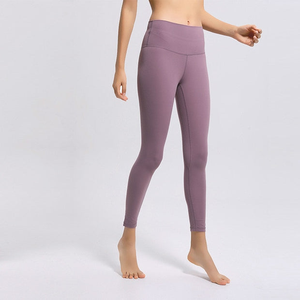 Naked-Feel Athletic Fitness Leggings