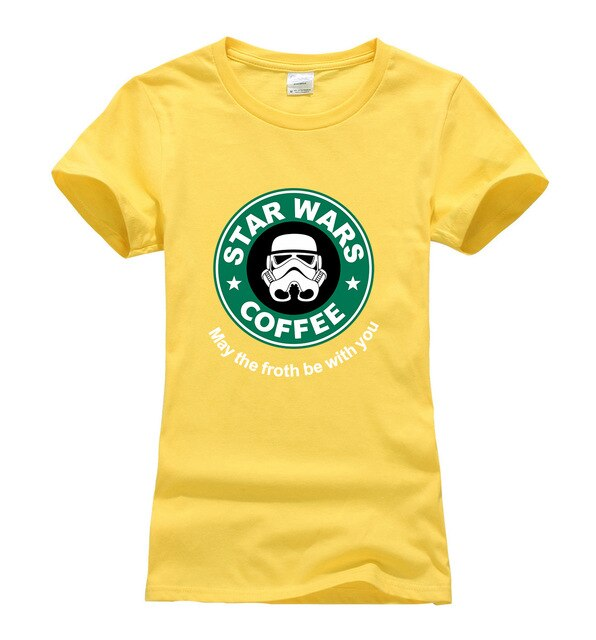 Star War Coffee T-shirt