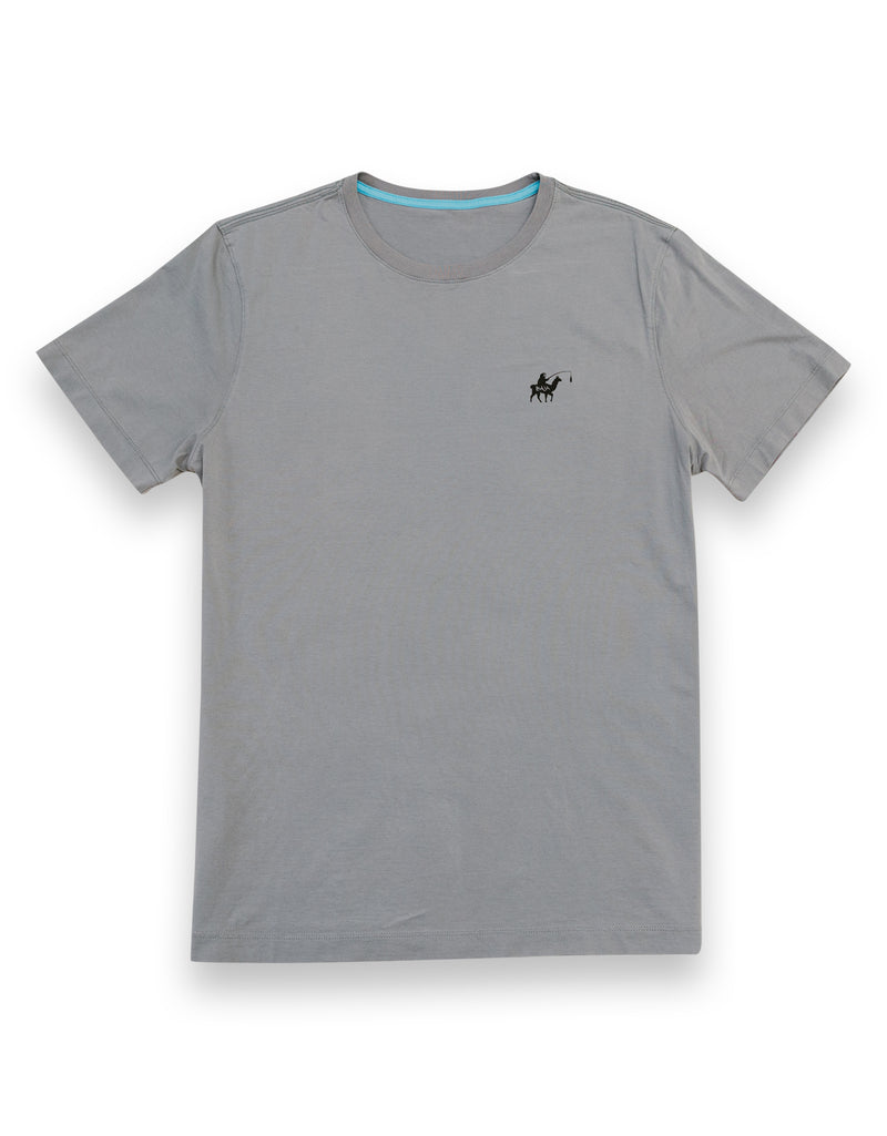 Baja Llama Llama and sloth grey cotton t-shirt