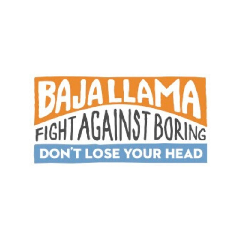 Fight Against Boring / Don't Lose Your Head Vinyl Sticker