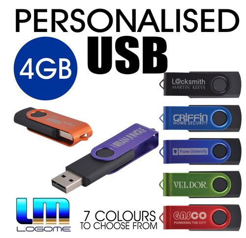 Personalised 4GB USB