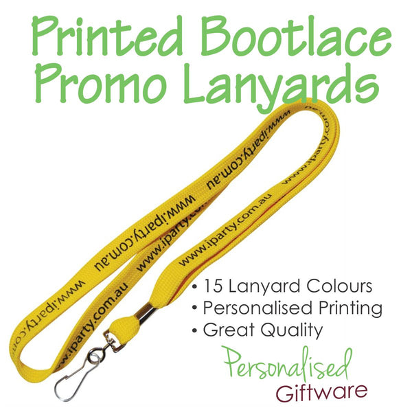 Printed Bootlace Promotional Lanyards