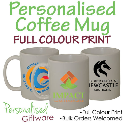 Coffee Mug 325mL With Full Colour Personalised Print