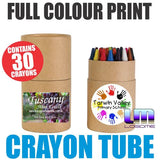 Coloured Crayons in Tube