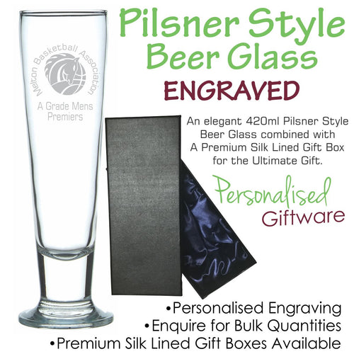 Everyday Range Pilsner Style Beer Glass 420ml