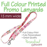 Full Colour Printed Lanyard - 15mm