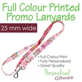 Full Colour Printed Lanyard - 25mm