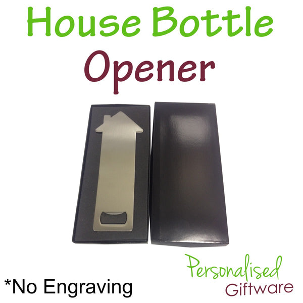 House Shape Bottle Opener