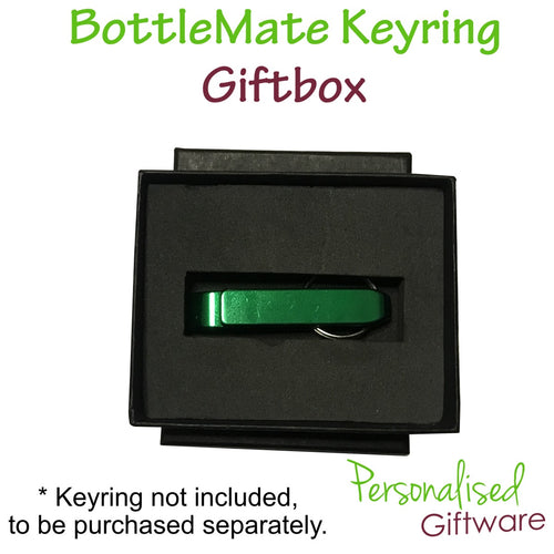 Metal Bottle Opener Keyring Giftbox