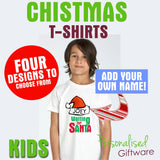 Personalised Christmas T-Shirts - Kids