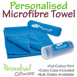Full Colour Printed Microfibre Sports Towel