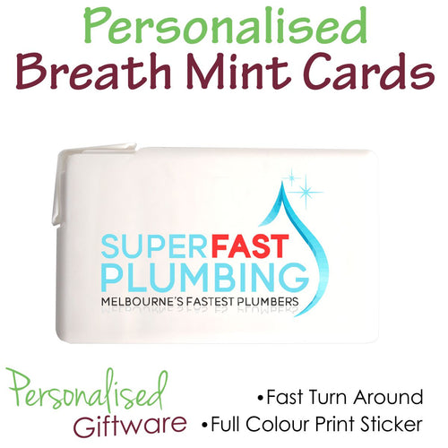 Full Colour Print BREATH MINT CARD