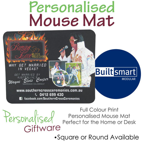 Full Colour Print Mouse Mat