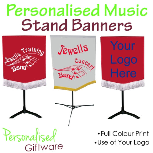 Music Stand Banners