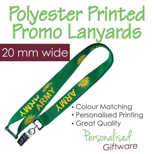 Polyester Printed Lanyard - 20mm wide