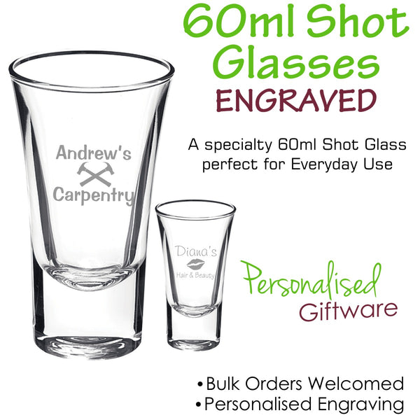 Specialty Range Shot Glass 60ml