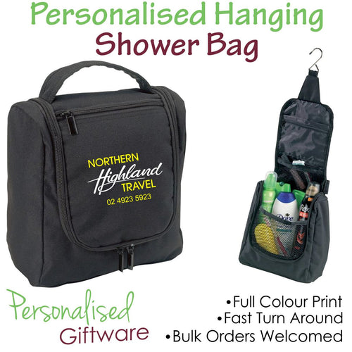 Hanging Shower Toiletry Bag