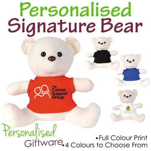 Personalised Signature Bears