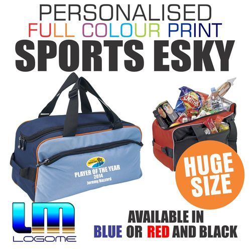 Full Colour Print Large Sports Cooler Duffle Bag