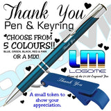 Thank You Pen and Keyring Set