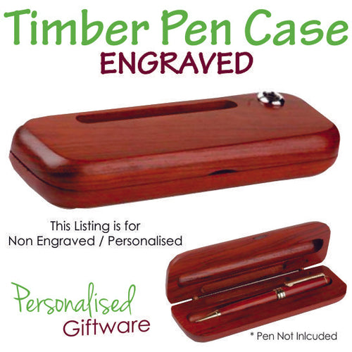 Premium Timber Gift Box for Pen - Non Engraved
