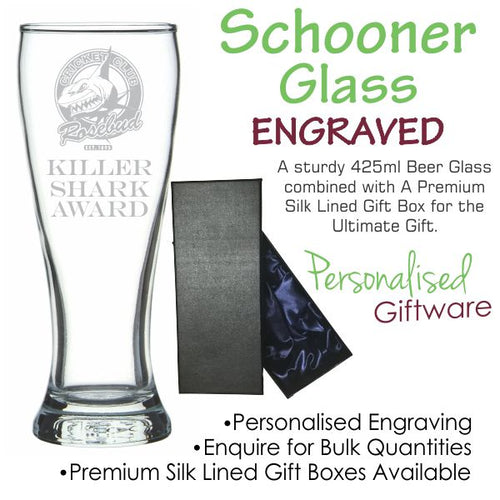 Value Range Beer Glass Schooner 425ml