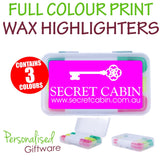 Wax Highlighters in Case