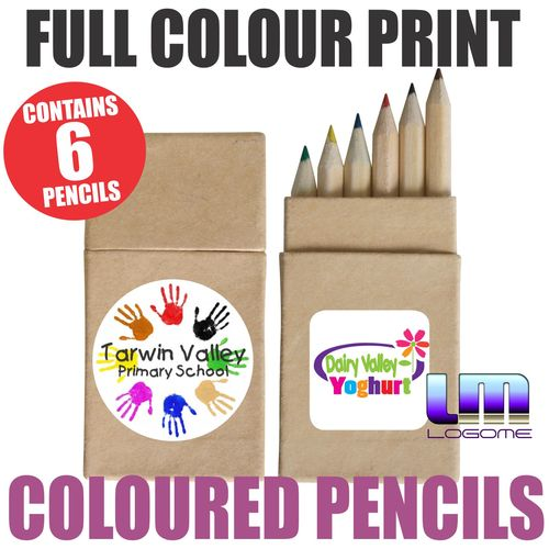 Coloured Pencils in a Box