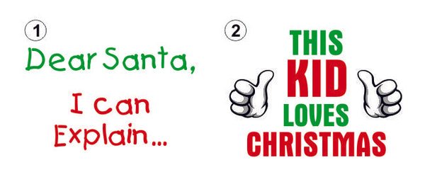 Christmas T-Shirts - Kids