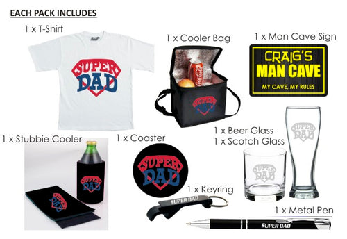 MEGA Father's Day Package - SAVE $33!
