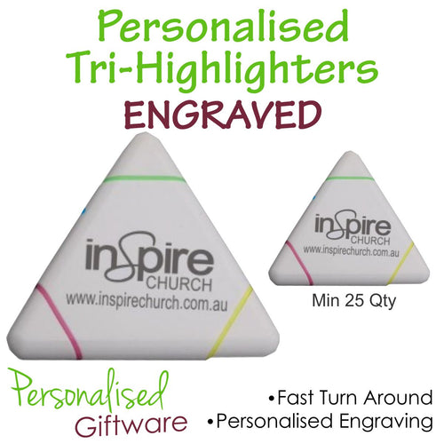 Personalised Tri Highlighters