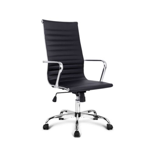 Replica Eames PU Leather Office Chair - High Back