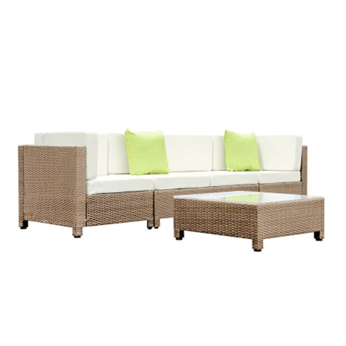 5 Pieces Outdoor Ratan Dining Set