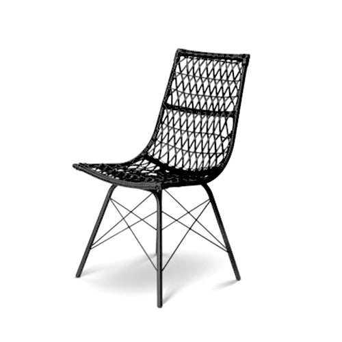 Rattan Classic Dining Chair - Set of 4