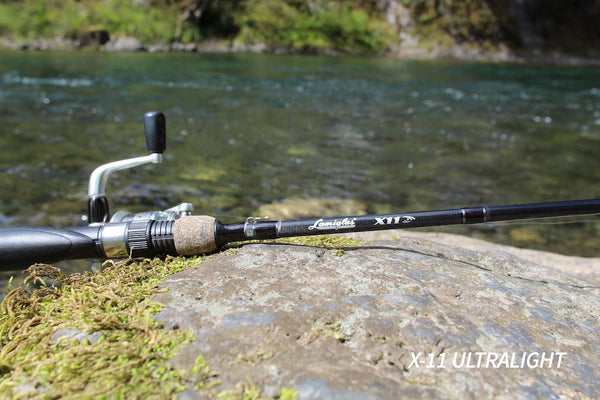 x11 freshwater trout rod