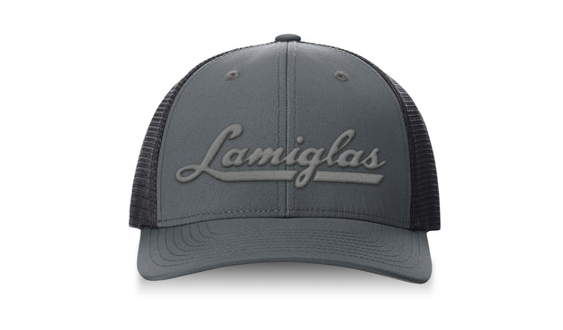 Lamiglas Steel Performance Snapback Trucker Hat
