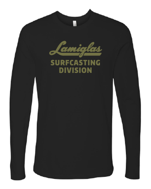 Black Surfcasting Division Long Sleeve
