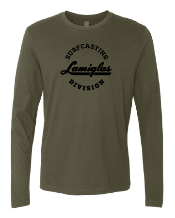 Military Green Surfcasting Division Long Sleeve