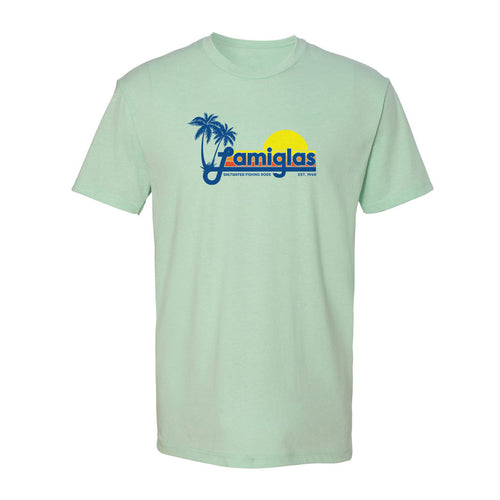 Lamiglas Retro Salt Mint T-Shirt