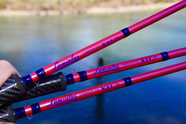 LX 96 MSGHP | Pink Steelhead Float, Drift & Spinner Rod
