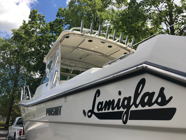 Lamiglas Vinyl Boat Decal
