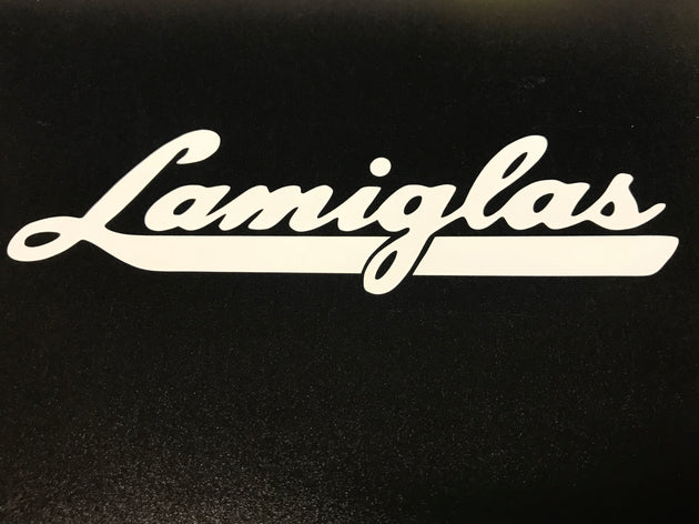 Lamiglas Logo Vinyl Decal