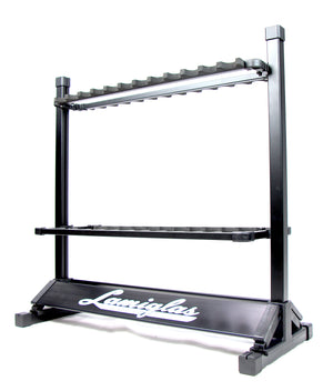 Lightweight 24 Rod Rack