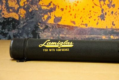 Lamiglas Travel Rod Tube | Yellow Embroidery